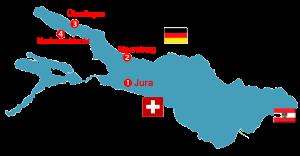 Bodensee Karte Tauchplätze