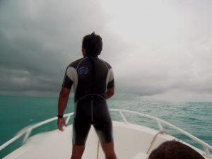 Golf von Mexico Hurricanausläufer